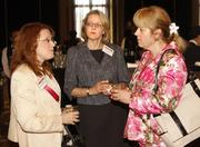 Lois Bradley of Bradley Partnerships Inc., Karen Poirer of IQity Solutions, and Ruthann Omer of Gateway Engineers Inc.