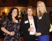 Kristen Puccetti of Consolidated Communications, Renee DiMichiei Farrow of Zoltun Design and Alyssa Calvin of Consolidated Communications.