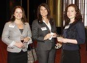 From left: Jennifer Ploskina of BI Worldwide, Rachel Bove of Shire Pharmaceuticals, and Cara Gilmore of Wrecking Crew Media.