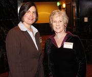 From left: Lisa Wennersten of Five Star Development and Anne Fleming of Woman-Drivers.