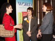 From left: Felicia Besh of PNC Wealth Management, Coralee Gionta of WORD FM and Kate Byrne of PNC Bank.