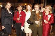From left: Elizabeth Terrell of UPS, Ann Boyd-Stewart of Chatham University, Lois Bradley of Bradley Partnerships Inc., Cathy Opsitnick of Management Science Associates and Rebecca Harris of Chatham University. Harris received a Woman in Business award at the dinner.