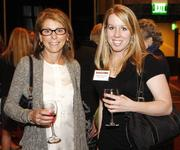 From left: Shari DeNardo of Ashwood Commons Land Partners and Michelle McConnell of Burns & Scalo.