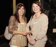 From left: Maria Brady of Marakae Marketing Inc. and Marsha Posset of Allegheny Valley Bank.
