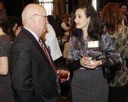 Bob Ewanco of Impel Strategies LLC and Christine Ferguson of Prima Eventi Inc.