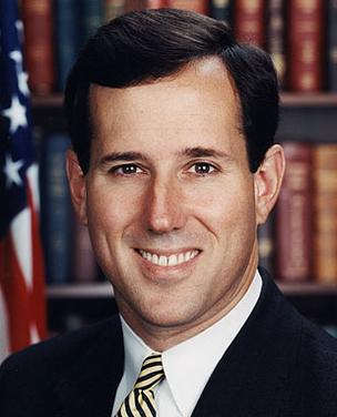 Rick Santorum received campaign contributions from many law firms.
