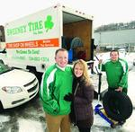 Sweeney Tire brings service to customers