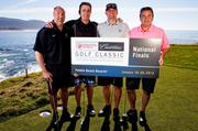 Tom Ali, a board member at National Kidney Foundation, left, Michael Cavanagh, Bob Macosko and Mike Sabota took first place in the NKF Cadillac Golf Classic National Finals held in Pebble Beach, Calif.