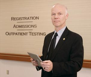 David Carleton, Heritage Valley Health System's VP and CIO, is working with UPMC to spearhead ClinicConnect, a nonprofit health information exchange.