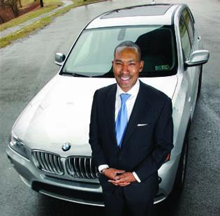 "Brian K. Parker says ""nothing drives like a BMW."" While he owns a 2011 BMW X-3, he prefers the 5 Series, a midsize luxury sedan. However, a garage height  restriction prevents him from owning one."