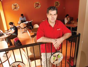 Ken Zeff, owner of Crazy Mocha Coffee Co., said he could add up to five new stores this year.