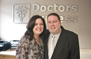 Mary and Vincent Morreale are opening a Doctors Express franchise in Shaler Township, the first in the region for the national chain.