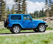 No. 27 - Jeep Wrangler. Sales: 141,669.