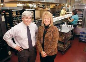 Asbury Heights executives Art Barbus and Debbie Schoonover