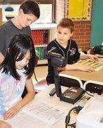 Bradford Woods Elementary School employs a team approach
