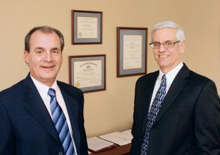 Jeff Yannuzzi, left, is principal-in-charge and John Mavero is principal of Hill, Barth & King LLC's Pittsburgh office. HBK , an accounting and business consulting firm, acquired Carson & Co. LLC CPAs on February 9.