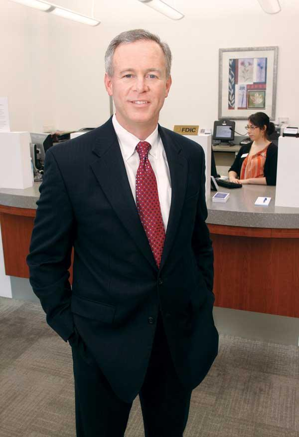 Patrick O'Brien led the conversion of First Federal Savings Bank to a stock-holding company.
