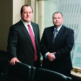 Michael McCabe, left, is an attorney with Goehring Rutter & Boehm. William Linnert Jr. is president of Jordan Tax Service Inc. McCabe is general counsel for Jordan, which is designated as the tax officer  of the Allegheny County Central Tax District.