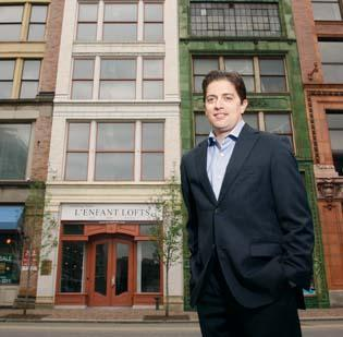 Todd Palcic of Penn Renaissance LP is redeveloping a six-unit condo project on Penn Avenue called L'Enfant Lofts. He also recently announced plans for another residential project on Penn Avenue. For more about that, see Page 15.