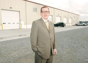 R.T. Walker, a Marcellus real estate expert at Beynon & Co. Inc., helps  developers build out smaller industrial buildings.