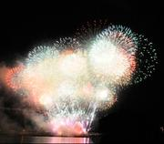 Fireworks are a popular element of Pittsburgh events, including this display at the regatta.