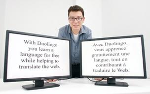 Luis von Ahn hopes to translate the Internet while teaching people a new language with his latest venture, Duolingo. The entrepreneur also is a professor at Carnegie Mellon University and the founder of reCAPTCHA.