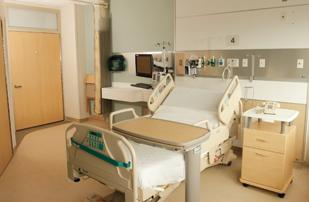 All UPMC East patient rooms are one-third smaller than the industry average.