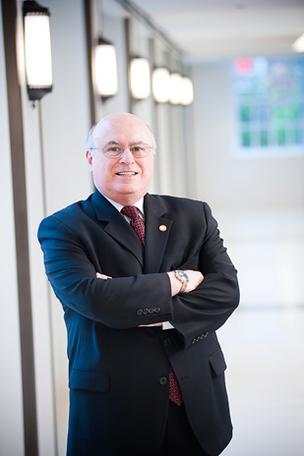 Richard T. Clark, Washington & Jefferson College's new chairman, has served on the Board of Trustees for five years.
