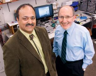 Pratap Khanwilkar, left, is director of the University of Pittsburgh's Coulter Program, and Harvey Borovetz, chairman of the bioengineering department, is a co-leader of the program.