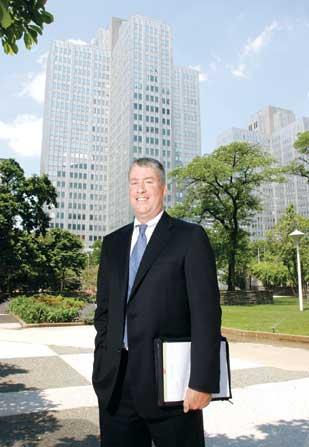 Paul Horan, a principal at NAI Pittsburgh Commercial recently hired to represent Gateway Center,  says, 'It's a good time to be a landlord.'