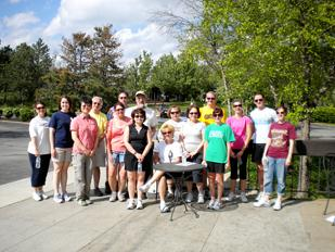 A 5K walk was held at ANH's corporate offices in conjunction with its Wellness Decathlon Challenge. Registration fees were donated to the tornado relief efforts for affected ANH employees in Fairfield, Ala.