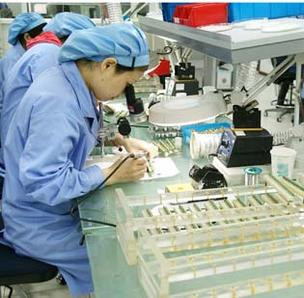 Industrial Scientific employs more than 100 people in a Shanghai manufacturing site, where they make sensors used in the company's products.