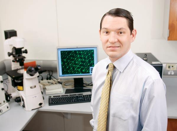 Steven Little, chairman of the Department of Chemical and Petroleum Engineering at the University of Pittsburgh, is part of a team that received a $100,000 grant from the Wallace H. Coulter Foundation to develop a drug to fight gum disease.