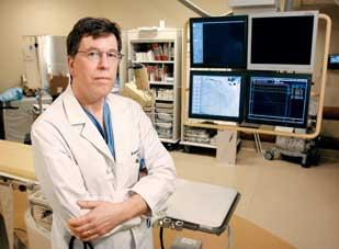 Dr. Howard Grill is the medical director of the heart catheterization lab at Excela Westmoreland Hospital in Greensburg, which is seeking accreditation.