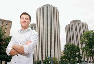 Justin Mares already is piloting his RoommateFit software. He is scheduled to pitch his software to Carnegie Mellon University later this summer.