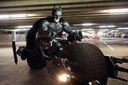"Christian Bale stars as Batman in ""The Dark Knight Rises."""