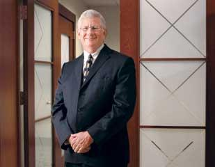 Jack Barbour was named CEO of Buchanan Ingersoll & Rooney a few years after his firm merged with Buchanan Ingersoll PC in 2006.