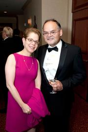 Marlee Myers and Raul Valdes-Perez were among more than 500 guests at Ernst & Young's Entrepreneur of the Year Awards held Friday, June 22, at the Wyndham Grand Pittsburgh Downtown Hotel.