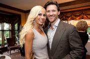 Tiffany and Dr. Derrick Fluhme attended the St. Clair Hospital Summer Swing fundraiser at the St. Clair Country Club.