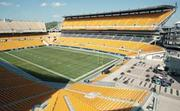 PNC Park and Heinz Field will face off in Round 1 of the Pittsburgh Brand Madness competition. Voting begins online on Sept. 9 at www.bizjournals.com./pittsburgh/blog/brand-madness.