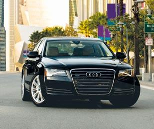 The 2012 Audi A8L features an aluminum body. Aluminum, which is more costly than steel, can already be found on luxury cars.