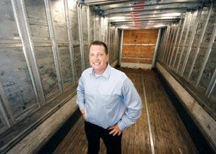 Michael Wagner is president of Target Freight Management, this year's fastest-growing company in the Pittsburgh region and the leader of the Pittsburgh 100.