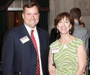 David McKinley and Debbie Moses of McKinley Carter Wealth Services enjoyed the Pittsburgh 100 event.