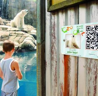 The Pittsburgh Zoo & PPG Aquarium teamed with WQED Multimedia to offer a pilot program for PBS stations across the U.S. using QR codes to teach children about zoo animals. A recent Pittsburgh Advertising Federation survey found 46 percent of ad agencies offer QR code development to clients, but only 15 percent of these clients use the service.