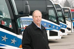 Charlie Lenzner, president of Lenzner Coach Lines, is concerned enforcement from the PUC, a Harrisburg agency, won't be as effective at the Port Authority's local efforts.