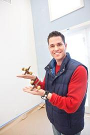 "Luca Paganico used oversized jacks as a decorative item in a room design challenge on HGTV's ""Next Design Star."""