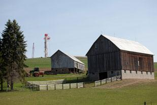 Companies throughout the Pittsburgh region are trying to find ways to do business with Range Resources, which owns the drill sites pictured, and the other natural gas production and service companies that have flocked to the region to work in the Marcellus Shale.