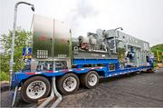 Aquatech International Corp. developed this MoVap unit as part of its water treatment suite for Marcellus Shale clients. The MoVap treats frac water that flows back out of natural gas wells.