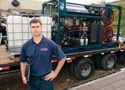 Keith Goldstrohm, a sales and business administrator with Wojanis Hydraulic Supply Co. Inc., traveled to Texas to find out how oil and gas companies like to work with suppliers.