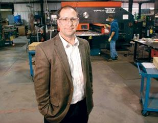 Buck Helfferich, president of Accrotool Inc., said his employees bought into a software upgrade once they could see the benefits.